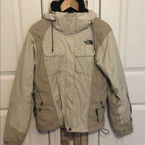 The North Face Tan/Cream Ski Jacket